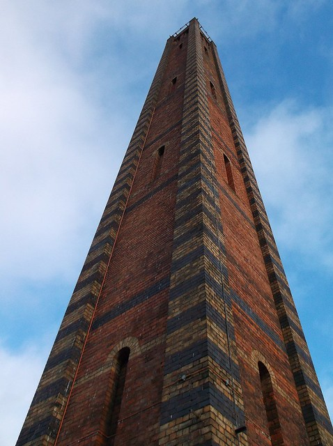Weavers Wharf chimney