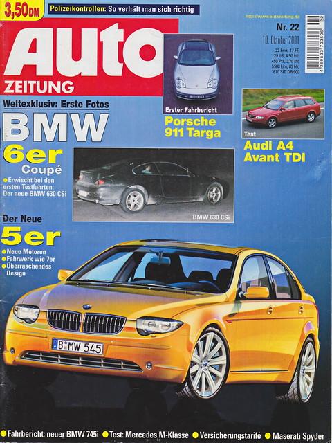 Auto Zeitung 22/2001