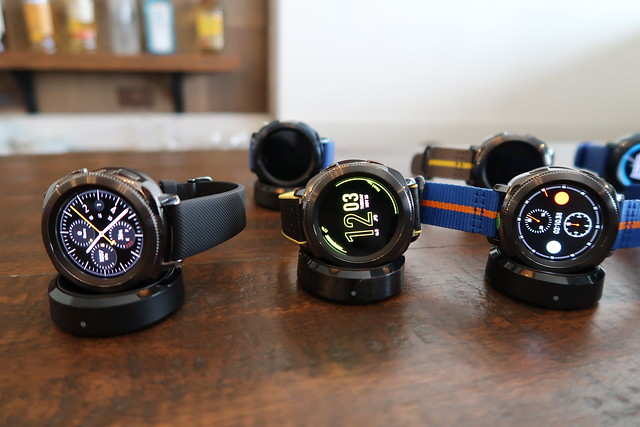 Samsung Gear Sport, Fit2 Pro, IconX Launch