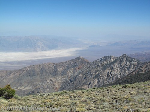 Southern part of Death Valley National Park, a slightly zoomed in picture from Bennett Peak. Death Valley National Park, California