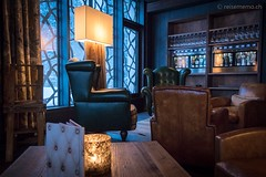 Lounge im Valsana Arosa