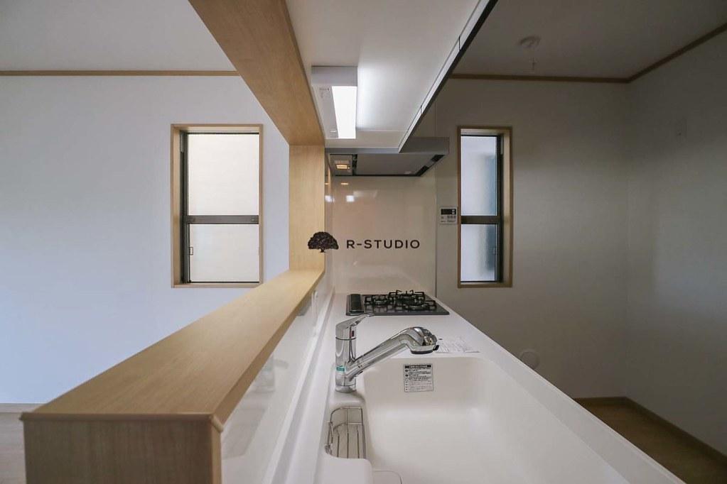 葉山の新築戸建:キッチン