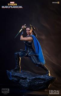 女武神驍勇善戰的姿態再現!! Iron Studios Battle Diorama 系列《雷神索爾3:諸神黃昏》瓦爾基麗 Thor: Ragnarok Valkyrie 1/10 比例決鬥場景作品