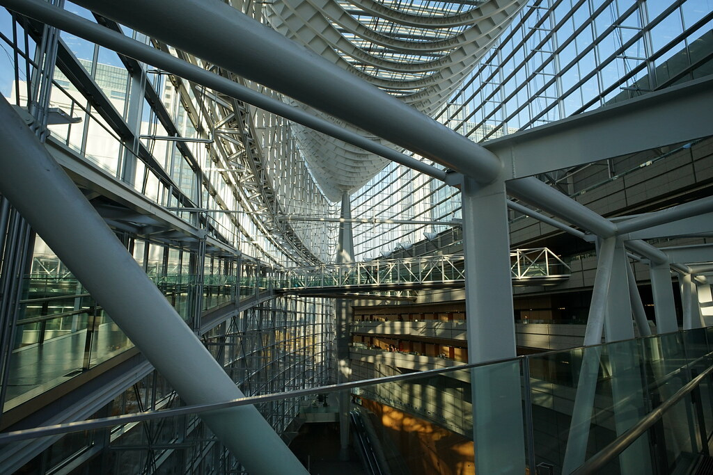 on Tokyo International Forum