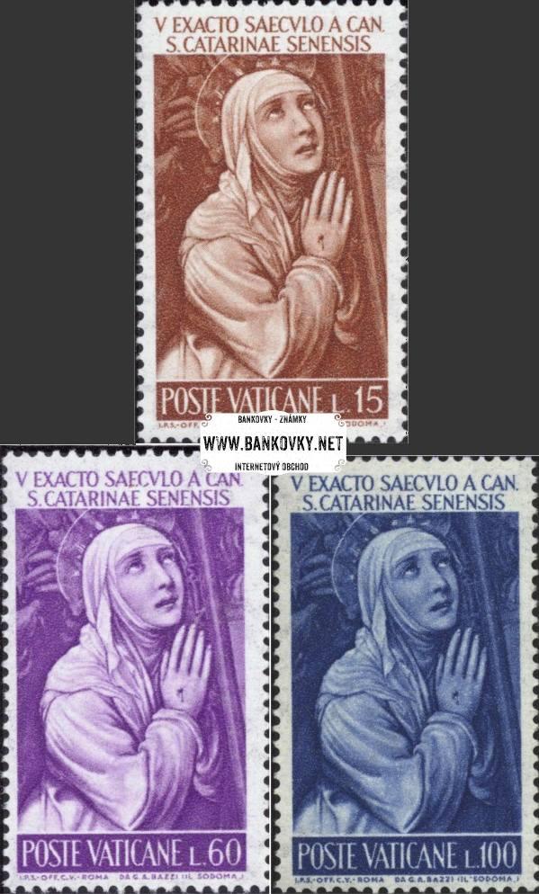 Známky Vatikán 1962 Svätá Katarína