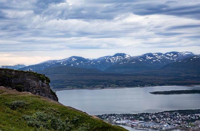 Tromsø Tromssa Fjellheisen Norja Norway Norge pohjois-Norja Kvaløya Tromsøya vuoret vuoristo