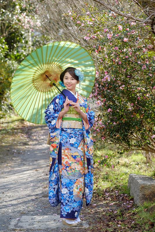 Kimono portrait