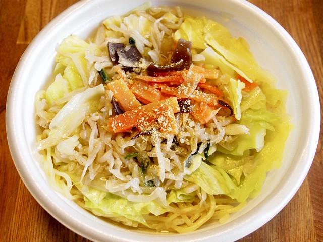 2017.12.25 野菜盛りタンメン