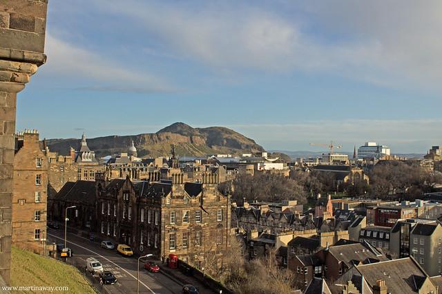Vista dal Castello di Edimburgo