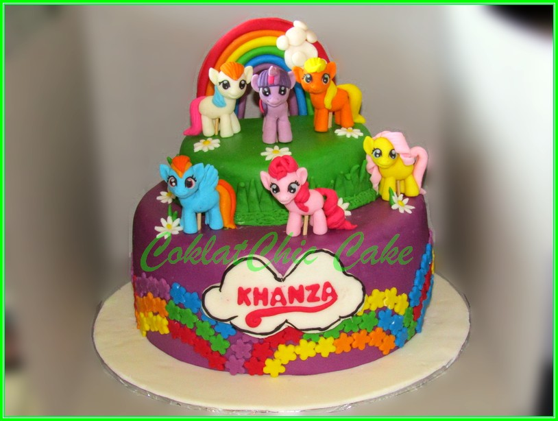 Cake My Little Pony KHANZA 20cm