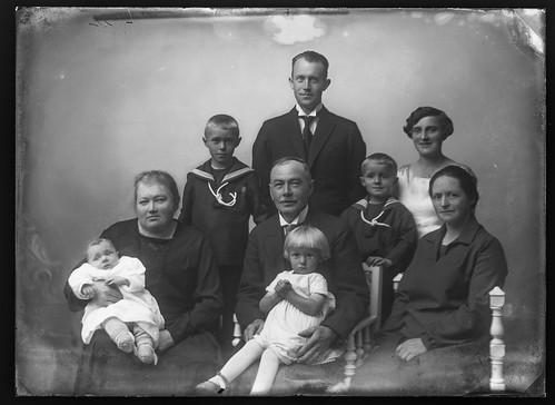 PEM-CHA-GP00826 Familiebilde av familien Moldenæs