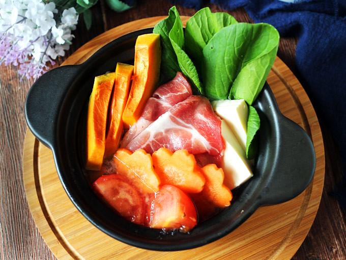 蔬菜蕃茄豬肉鍋_大成桐德黑豚 dachan-food-pork (11)