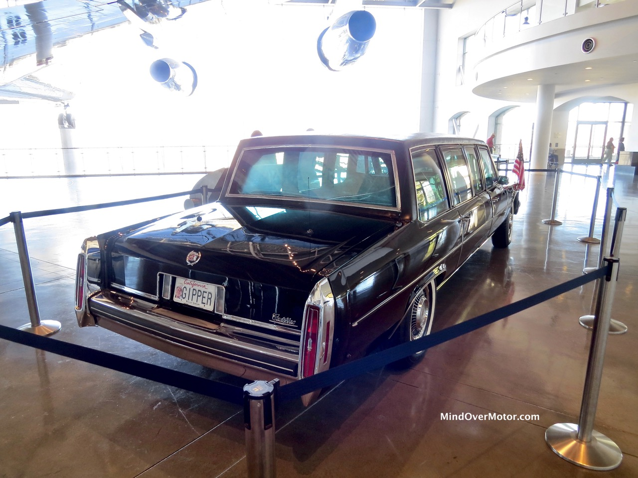 Reagan Limo Rear