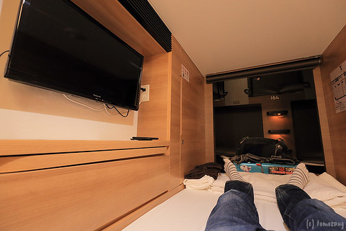 Capsule hotel - Y's Cabin Yokohama Kannai