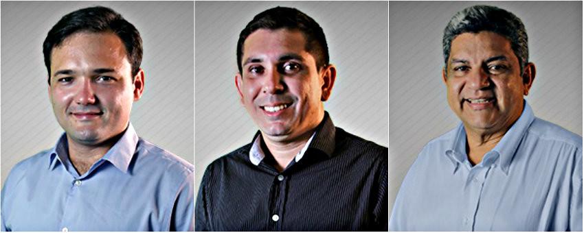 Os 3 melhores secretários municipais de Santarém, segundo Nélio Aguiar, Secretários: Daniel, Bruno e Pixica