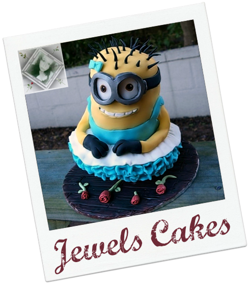 Minion Cake by Jewels Cakes