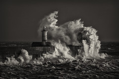 Storm Eleanor - Newhaven Black and White 2