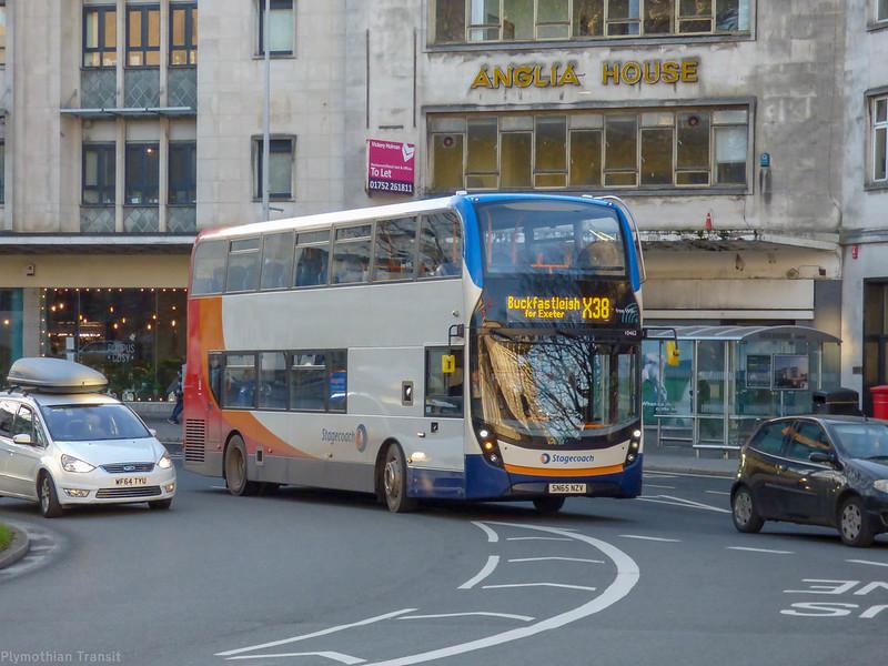 Stagecoach Devon 10462 SN65NZV