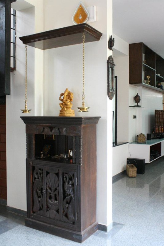 Wall Unit Designs For Small Room: An Interior Designer Shares 10 Pooja Room Designs For Your