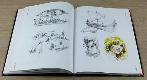 Rosinski Artbook Thorgal 40 lat 06