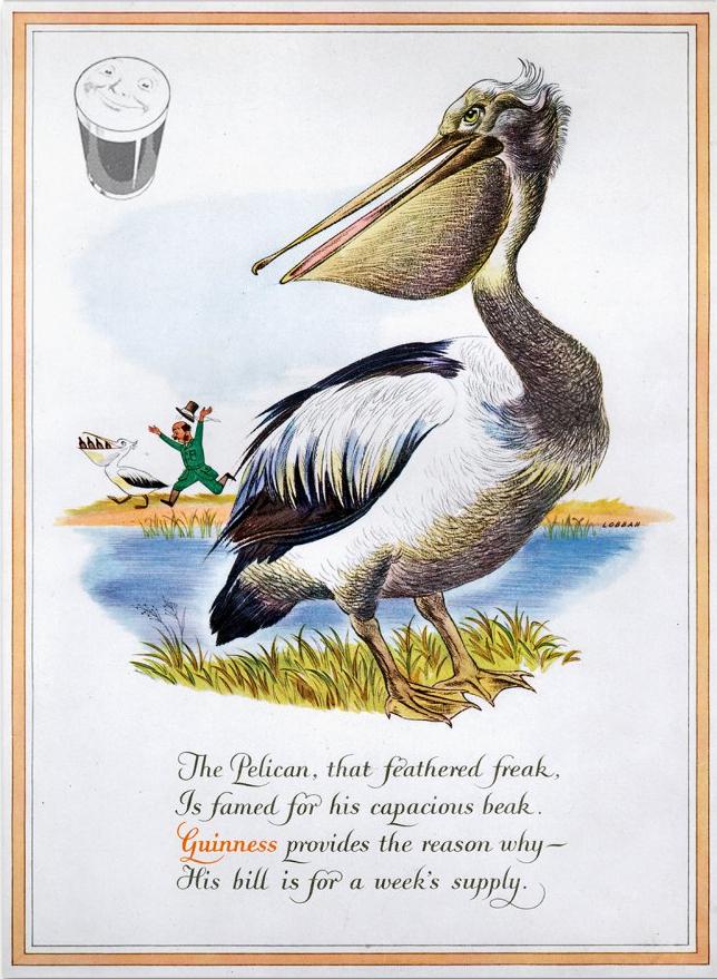 Guinness-1952-pelican