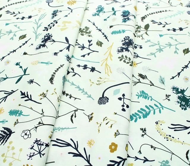 Art Gallery Fabrics Esoterra Plantae Aurora