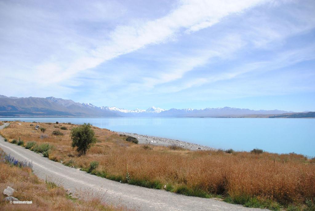 Lake Pukaki, Uusi-Seelanti