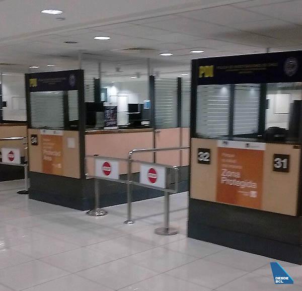 Colapso Migraciones Dic 17 casetas vacías (atribuir a pasajeros SCL)