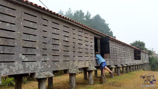 Horreos de Carnota y Lira, los mas grandes de Galicia 10