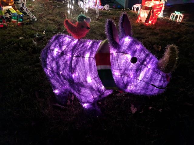 Christmas Rhino