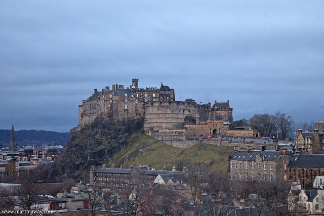 Vista dal National Museum of Scotland