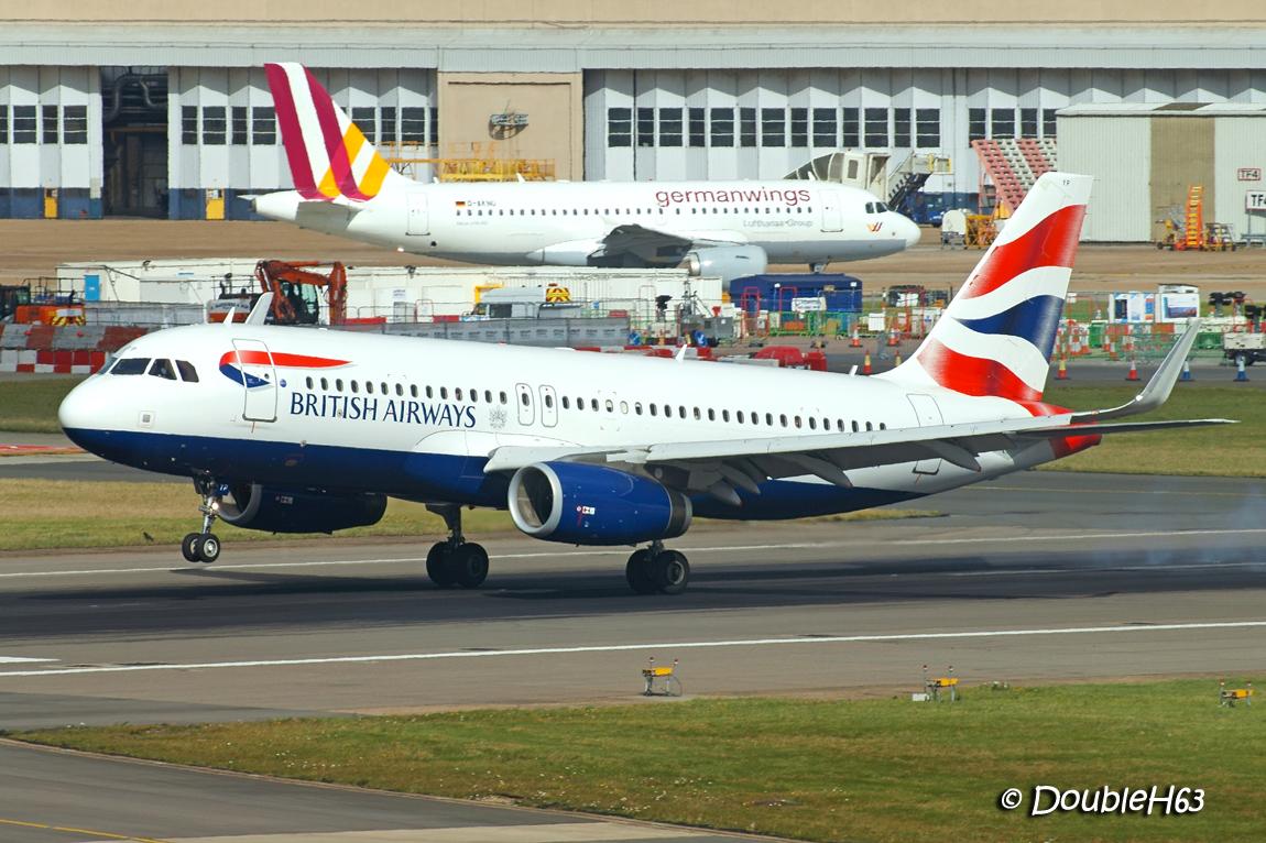 G-GATP A320 BAW LHR