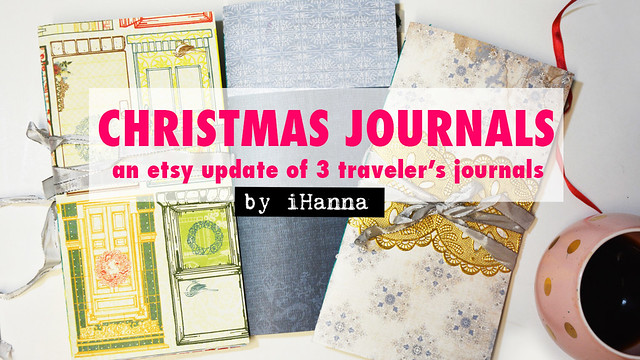 Three Christmas Journals + Video