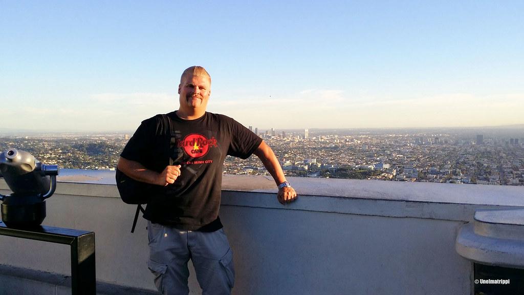 Hemmo Griffith Observatoryllä, Los Angeles, Kalifornia, USA