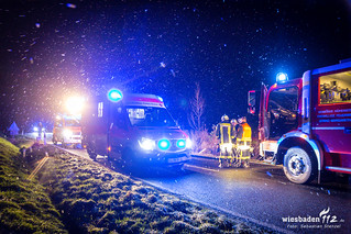Tödlicher Unfall L3032 Hofgut Georgenthal 09.12.17