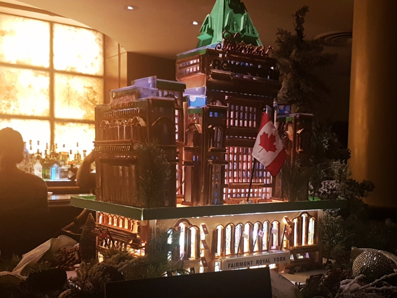 Royal York gingerbread house
