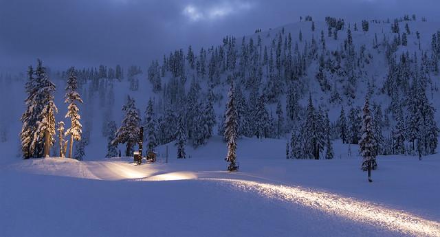 Mt Baker Ski Area, WA.