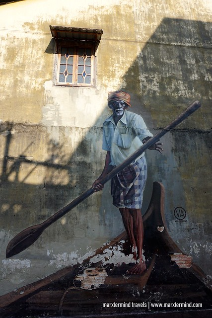 The Boatman Penang Street Art