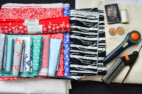 """Supplies: 4 yards fabric (6yds top + 3yds backing, if not cutting alternating wedges), 1 yd binding (or 2 fat quarters), 60x60"""" quilt batting (I sewed a bunch of scraps together), rotary cutter, scissors, cutting mat, thread, pins, sewing machine"""