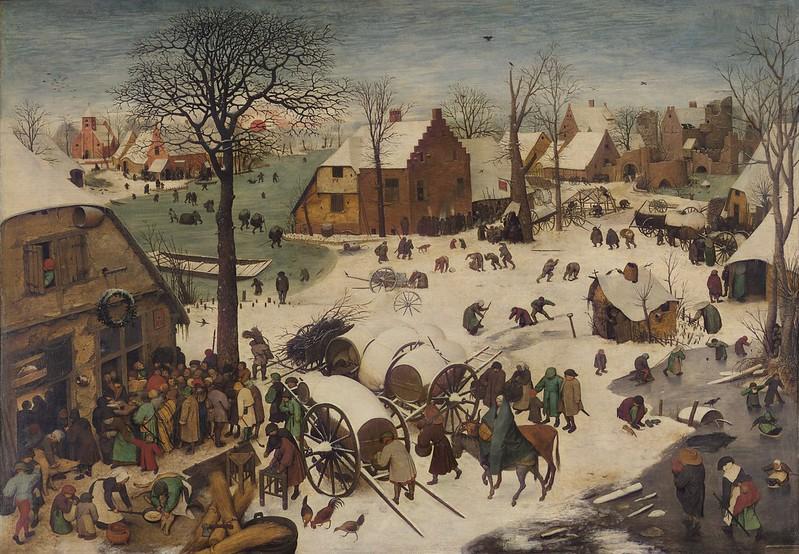 Pieter Bruegel the Elder - The Numbering at Bethlehem (1566)