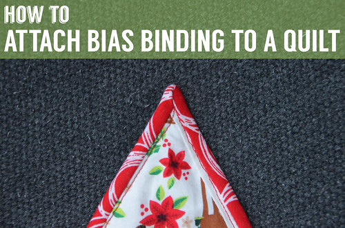 How To Attach Bias Binding to a Quilt