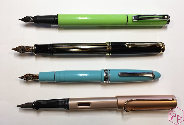 Review Sheaffer Pop Glossy Lime Fountain Pen @GoldspotPens 6