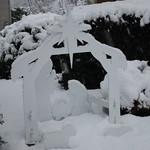 A buried nativity scene