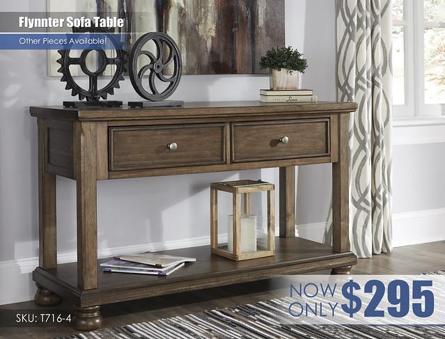Flynnter Sofa Table T716-4