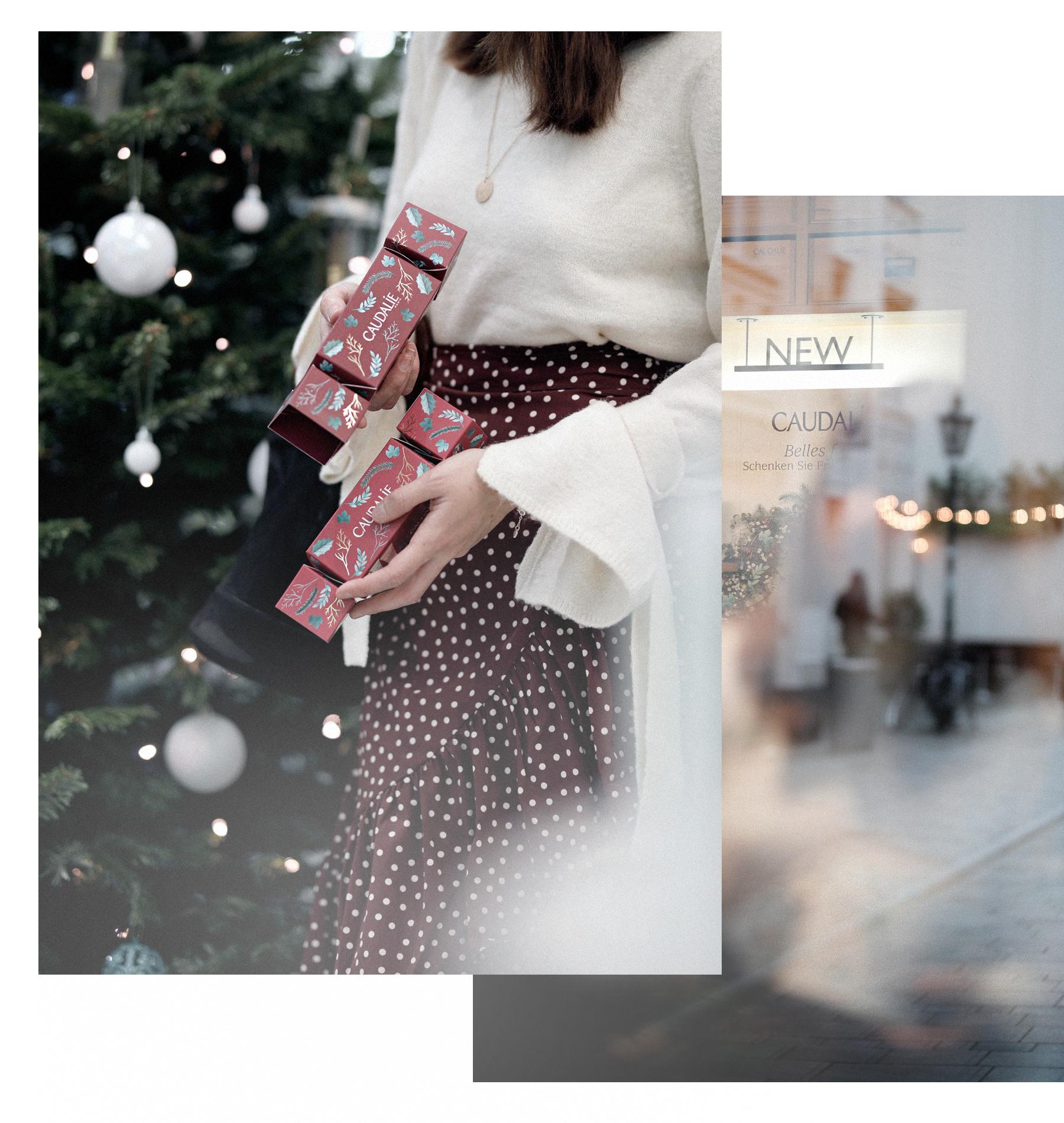 caudalie christmas boutique spa düsseldorf bordeaux france beauty beauté ricarda schernus xmas holidays gewinnspiel win snow lights wiehundundkatze catsanddogsblog modeblog beautyblogger germany max bechmann fotografie film 2