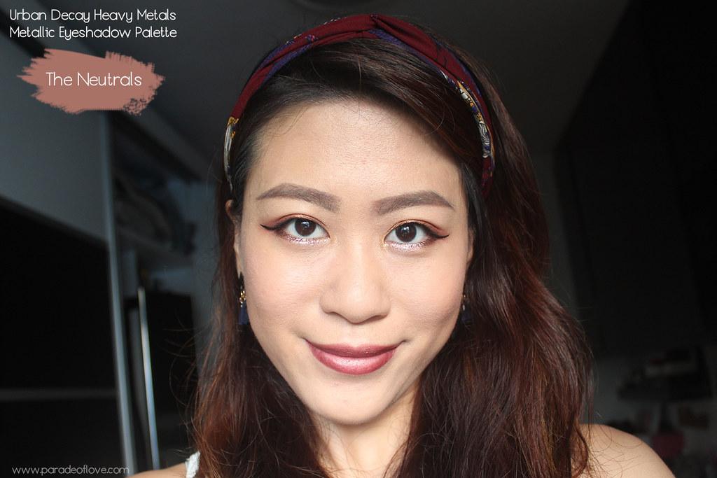 Urban Decay Heavy Metals Metallic Eyeshadow Palette Makeup - Neutrals_01