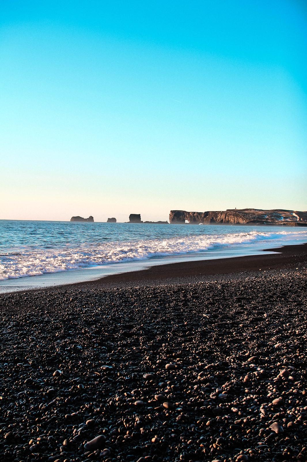 Reynisfjara Vik Black Sands Beach Iceland travel blogger UK The Little Things