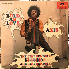THE JIMI HENDRIX EXPERIENCE:AXIS BOLD AS LOVE(JACKET A)