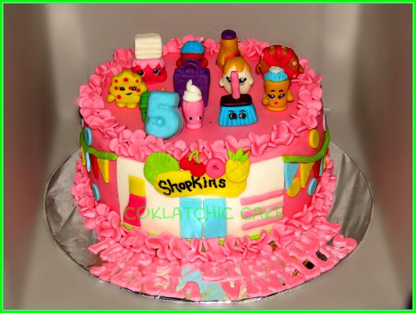 Cake Shopkins Alycia 18cm