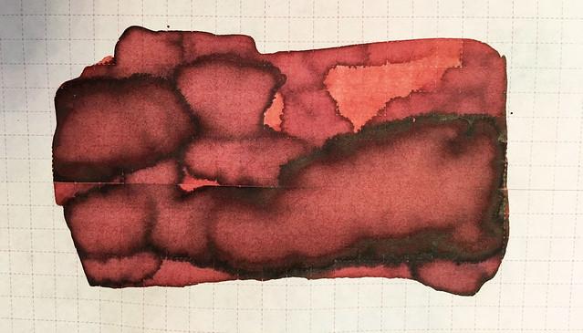 Ink Shot Review Franklin-Christoph Urushi Red @1901FC 11